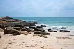 Dreamlike beach and rocks at Samed island. Stock Photography