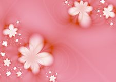 Dreamlike flowers Royalty Free Stock Photography
