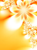 Dreamlike flowers Royalty Free Stock Images
