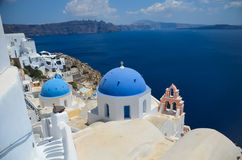 Dreamlike trip to the island of Santorini Royalty Free Stock Images