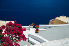 Dreamlike trip to the island of Santorini Stock Photo