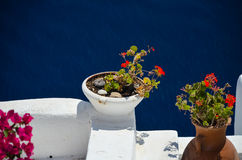 Dreamlike trip to the island of Santorini. Stock Photography
