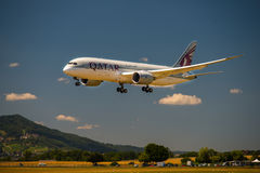 Dreamliner波音787 库存照片