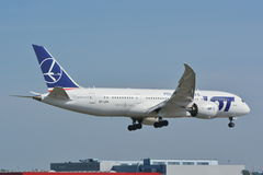 Dreamliner 787 Στοκ Εικόνες