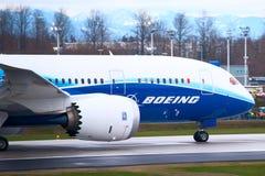 dreamliner 787 Боинг Стоковые Фотографии RF