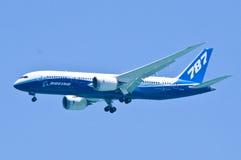 dreamliner 787 Royaltyfri Foto