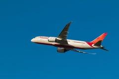 Dreamliner Air India dois Imagem de Stock Royalty Free