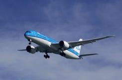 787-9 Dreamliner lleno Imagenes de archivo