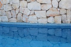 Free Dreams And Natural Reflections In Swimming Pool, Summertime  Stock Images - 45519744