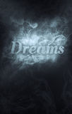 Dreams become into smoke Royalty Free Stock Photography