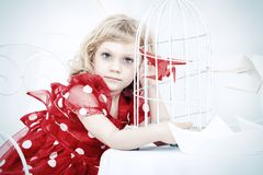 Dreams in cage Royalty Free Stock Images