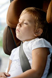 Dreams in car Royalty Free Stock Image