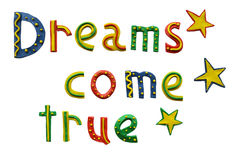 Dreams Come True Royalty Free Stock Images