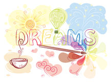 Dreams stock image