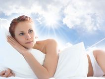 Dreams In Sky Stock Photography
