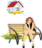 Dreams about a private house royalty free stock images