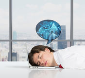 Dreams of success Royalty Free Stock Photos
