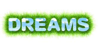 Dreams title Stock Image