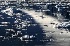 Dreamscape del ghiaccio Fotografia Stock