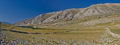 Dreamscapes di Luka dei veli, isola di Krk, Croatia Fotografie Stock Libere da Diritti