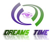 dreamstime徽标 库存照片