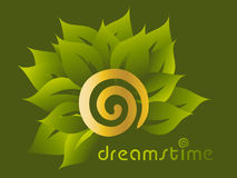 Dreamstime Flower. Kind of free art Vector Illustration