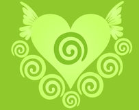 Dreamstime heart. Illustration of a dreamstime heart, creative image Stock Image