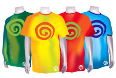 dreamstime kolorowe koszula t zdjęcia royalty free