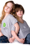 Dreamstime shirts Royalty Free Stock Photo