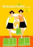 dreamstime shoppar Royaltyfri Illustrationer