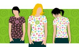 Dreamstime T-shirt design #6 Royalty Free Stock Photography