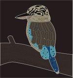 dreamtime kookaburra Στοκ εικόνα με δικαίωμα ελεύθερης χρήσης