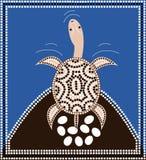 dreamtime longneck χελώνα Στοκ Εικόνα