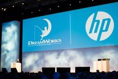 Dreamworks vd Jeffrey Katzenberg arkivbild