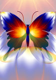 Dreamworld butterfly Royalty Free Stock Images