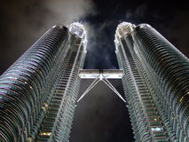 Dreamworld KLCC Nightview Royalty Free Stock Image
