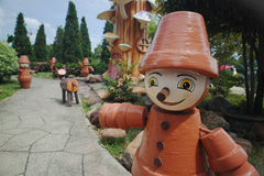 Dreamworld thailand. Amusement park is Dreamworld in thailand Stock Photos