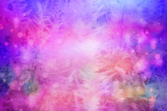 Dreamy beautiful floral background Stock Photography