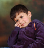 Dreamy boy Royalty Free Stock Photography