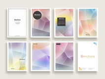 Dreamy brochure template Royalty Free Stock Photos