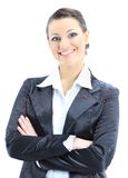 Dreamy business woman Stock Images