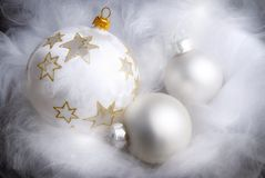 Dreamy Christmas arrangement Stock Photography