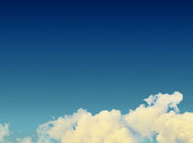 Dreamy clouds Royalty Free Stock Photography