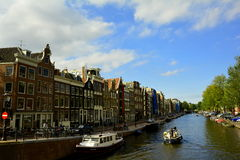 A Dreamy day in Amsterdam Royalty Free Stock Photos