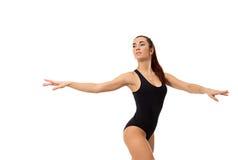 Dreamy female dancer posing at camera Stock Image