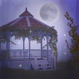 Dreamy garden. 3d render of a dreamy garden Stock Image