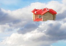 Dreamy house Stock Photo