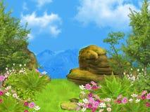 Dreamy landscape Stock Photography