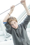 Dreamy male teenager Royalty Free Stock Photo