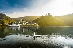 Dreamy moselle scene stock images